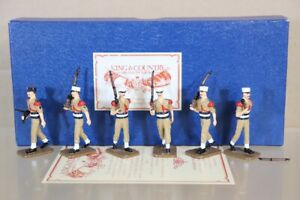 KING & COUNTRY GCR FRENCH FOREIGN LEGION WWII SOLDIERS MARCHING BOXED pjm