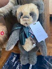 Rare Limited Edition Curio Charlie Bear Only 95 Made Mohair Panda