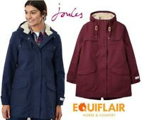 Joules Coast Cosy Mid Length Fleece Lined Waterproof Jacket