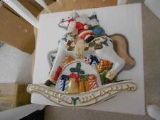 Musical Christmas Rocking Horse-In Box-International Bazaar-# 44156941-Excellent