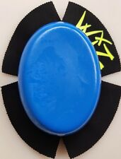 WIZ BLUE TRAKPUX  CHUNKY KNEE SLIDERS  FOR MOTORCYCLE RACING