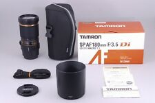 【Near Mint】 Tamron SP AF 180mm f3.5 Di Macro B01 Lens For Canon from Japan♯453