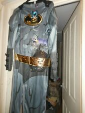 Adult/Mens Fancy Dress Halloween Batman Costume. New With Tags. Size S/M