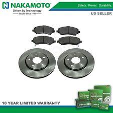 Nakamoto Front Metallic Brake Pad &Rotors Kit Set for Chrysler Dodge Volkswagen