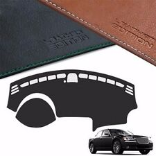 Custom Made Leather Edition Dashboard Cover For Chrysler 300C C Sedan 2011+