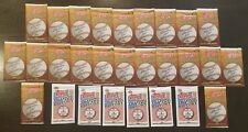 Lot Of 28 Packs Topps Ring Of Honor Trading History Baseball Card Sealed 2008-09