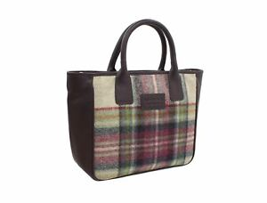 Mala Leather ABERTWEED Collection Leather & Tweed Grab Bag 728_40
