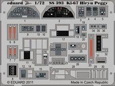 Eduard Zoom SS393 1/72 Mitsubishi Ki-67 Hiryu 'Peggy' Hasegawa