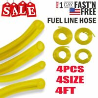 4.16 Feet Fuel Gas Line Flexible Pipe Hose Pump For Trimmer Chainsaw Blowers