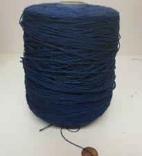 Wolle Garn Stricken weben /&häkeln polyester blau handstrickgarn 1,3kg pay71