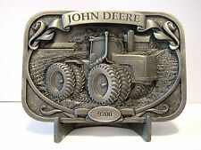 *John Deere 9200 4WD 9000 Series Tractor Pewter Belt Buckle 1999 Limited Edition