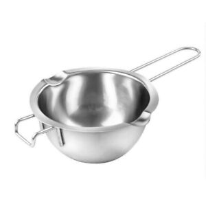 Stainless Steel Wax Melting Pot Double Boiler For DIY Wedding Scented Candle UK