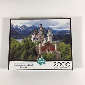 Buffalo Games Neuschwanstein Castle Bavaria 2000 Piece Jigsaw Puzzle