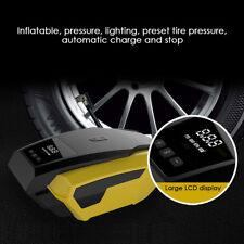 1X 12V Digital Air Compressor Car Automatic Tyre Inflator Electric Portable Pump