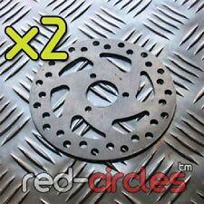 2x 120mm Minimoto Mini Moto Frein Disques - Compatible avec 47cc & 49cc
