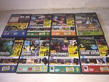 Playstation 2 Demo Discs Job Lot