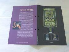 STAR WARS TRILOGY - Plan média / Press kit !!! PETER ANDRE - BOF !!!
