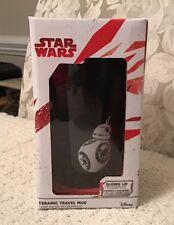 Star Wars Episode VIII Last Jedi Ceramic 12 oz. Travel Mug BB-8, New in Box