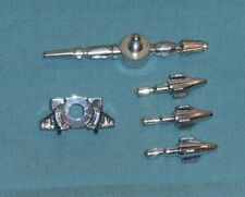 original G1 Transformers RATCHET IRONHIDE PARTS LOT #3 chest piece gun missiles