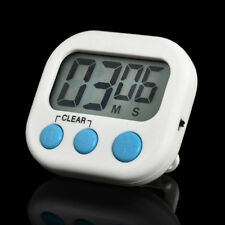 Kitchen Cooking Loud Alarm Magnetic Large Timer LCD Digital Count-Down Up Clock