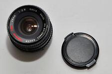 Albinar ADG 28mm 1:2.8 Macro Focus 52mmø Camera Lens w 52mm UV filter & lens cap