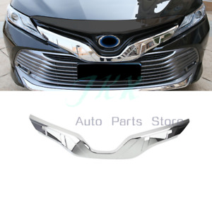 ABS Chrome Front Bumper Side Grille Cover Trim For Toyota Camry 2018-20 L LE XLE