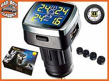 Neumático de Presión de Neumáticos TPMS Inalámbrico + Kit de sistema de Monitor de Temperatura sensores externos