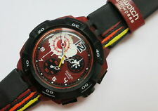 Reddish BLACK-Access Chrono-sukr 100-nuovi e mai indossati