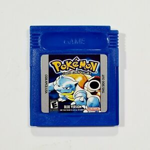 Nintendo Game Boy Modul POKEMON BLUE VERSION engl. Repro/Rollenspiel/Blaue Edit.