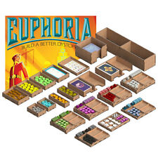 Organizer for EUPHORIA: Build a Better Dystopia board game by GameBoxAdvanced