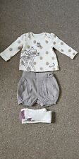 Nutmeg Christmas Disney Bambi Baby Girl outfit shorts set size 3-6m Twins?