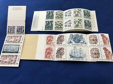 Sweden Stamp Booklets,3, MNH,cat#'s below, Cat Val: $19.50US, Price:$8US, (2125)