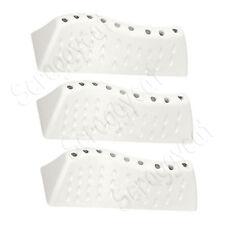 3 X Washing Machine Drum Paddle Lifters Fins Bush, Logik, Swan, Sharp 42097400