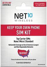 New ListingNet10 Keep Your Own Phone 3-in-1 Prepaid Sim Kit