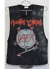 Slayer T Shirt heavy metal rock band Singlet Tank Top vest black tee new size M