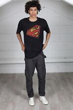 Officiel superman vintage couleur angle unisexe t-shirt batman supergirl steel