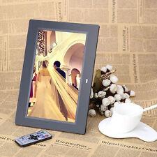 10.1Inch HD LCD Digital Photo Frame Alarm Video Player + Remote FY