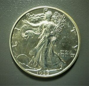 1935-D Walking Liberty Half Dollar  BU