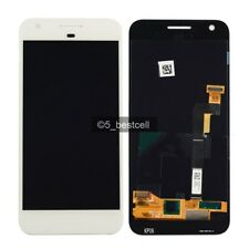 "5"" White HTC Google Pixel Nexus S1 Touch Digitizer+LCD Display Screen Assembly"