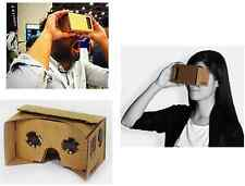 Google Cardboard 3D VR Virtual Reality Glasses Ultra Clear 3D Viewing Glasses US