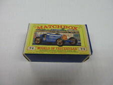 "Vintage MATCHBOX ""Models of Yesteryear"" Supercharged Bugatti 35  Y-6"