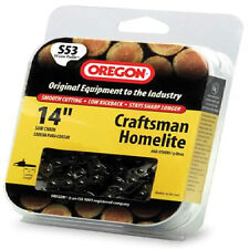 New Oregon S53 14-Inch Semi Chisel Chain Saw Chain Fits Craftsman, Homelite *