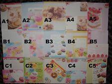 Kawaii Crux Kamio Rilakkuma Q-Lia Letter Sets!