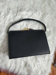 *GUC* Vintage 1950-1960 Original by Caprice Black Handbag