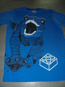 LEGO T-Shirt Gr.152/158 T-REX blau
