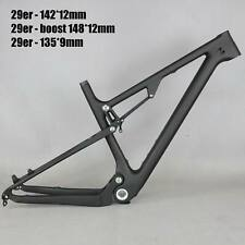 2021 NEW Full Suspension Carbon frame MTB Bicycle mountain bike frame FM078