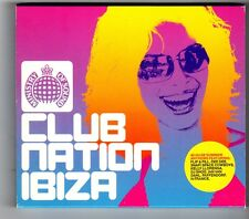 (HK375) Club Nation Ibiza, 40 tracks various artists - 2002 double CD