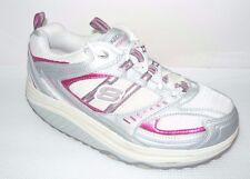 Skechers Shape-Ups white/pink toning shoes walking Women's Size 7.5