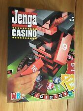xxx    Jenga Casino, MB Spiel ab 18, keine Originalchips, wurden aber ersetzt