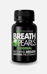 Breath Pearls Original - 150 Softgels, Freshens Breath